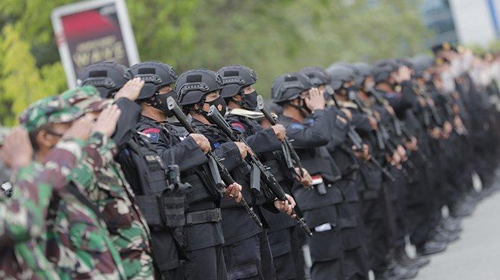 742 Personel Gabungan Amankan Rangkaian Ibadah Paskah di Pontianak dan Kubu Raya