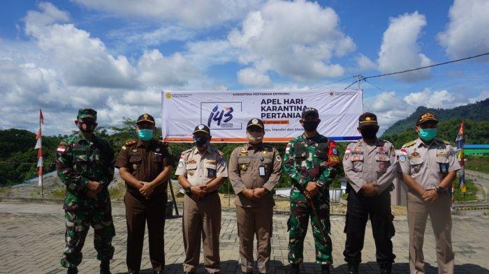 Mentan Syahrul Yasin Limpo Pimpin Apel Hari Karantina Pertanian Secara Virtual di Perbatasan