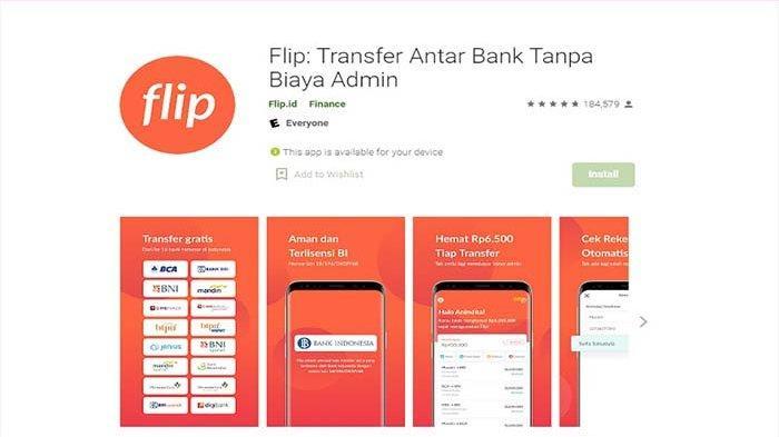 Aplikasi Gratis Transfer Uang Antar Bank dan E-Wallet Bisa Hasilkan Uang Tiap Hari di Masa Pandemi