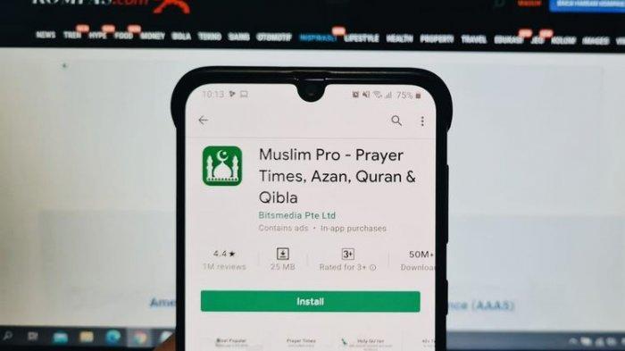 APLIKASI Muslim Pro Jual Data Penggunanya ke Militer Amerika ? Pihak Pengembang Beri Klarifikasi