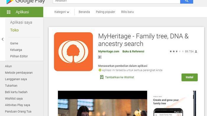 Download Deepfake MyHeritage di Google Playstore , Ini Cara Menggunakan MyHeritage !