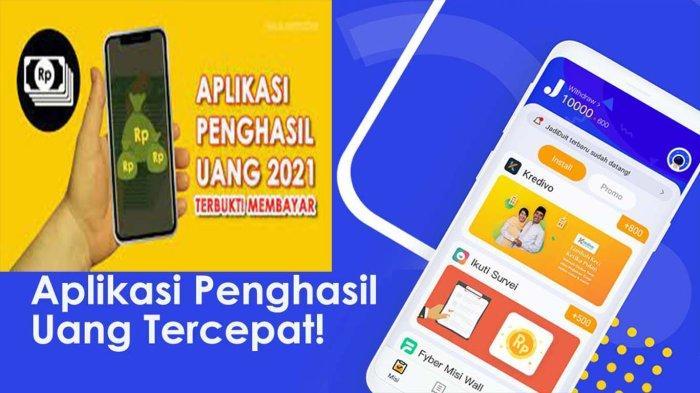 Urutan Aplikasi Penghasil Saldo Dana Tercepat 2021, Helo dan LikeIt Lite Saldo Terkecil