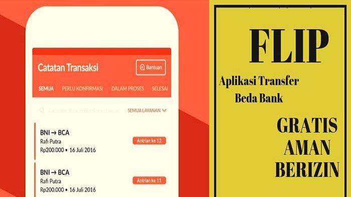 Aplikasi Penghasil Uang Gratis Bisa Transfer Uang Antar Bank Tanpa Biaya, Instal Aplikasi Flip