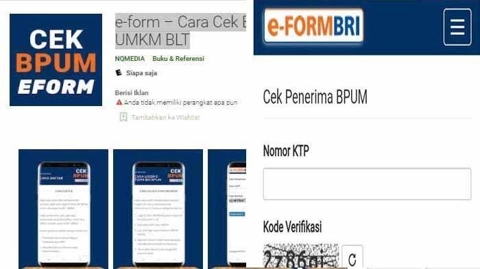 Aplikasi E-Form BRI Daftar Online BLT UMKM 1,2 Juta, Cara Terbaru Cek Bantuan 2021