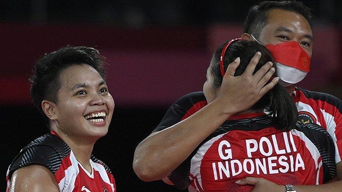 JADWAL Lengkap Jam Tayang Greysia Polii / Apriyani Rahayu di Final Badminton Olimpiade Tokyo