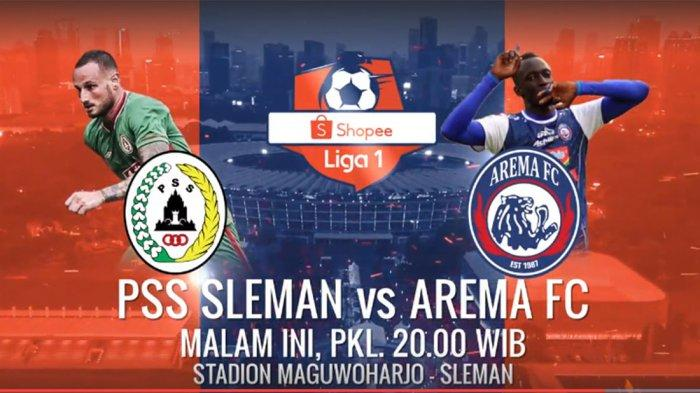 Live Streaming Indosiar PSS Sleman Vs Arema FC, Coach Seto Ingin Ikut Jejak Liverpool dan Ajax
