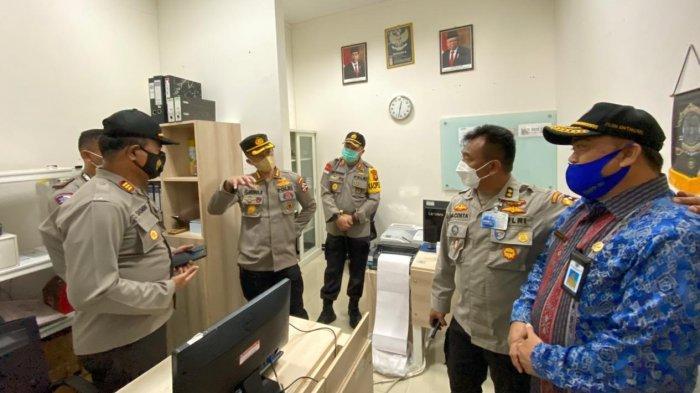 Tim Monev Divisi Hubungan Internasional Mabes Polri Kunjungi PLBN Entikong, Ini Tujuannya