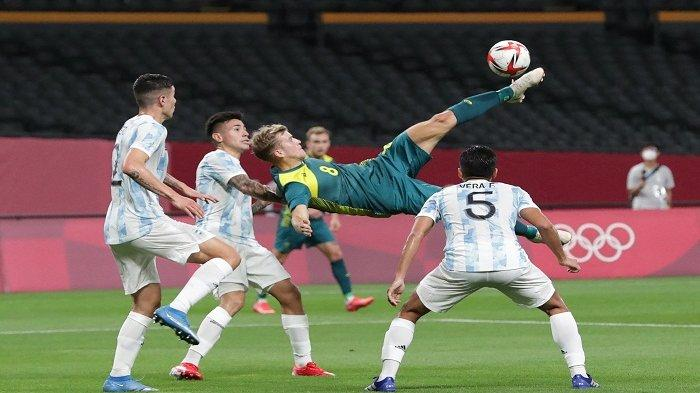 SKOR Akhir Argentina vs Australia Olimpiade Tokyo 2021 Tadi Malam Lengkap Link Klasemen Grup C