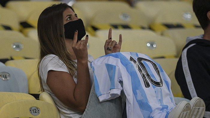 Argentina Juara Copa America 2021 Setelah Hasil Akhir Argentina vs Brazil, Lionel Messi Top Skor