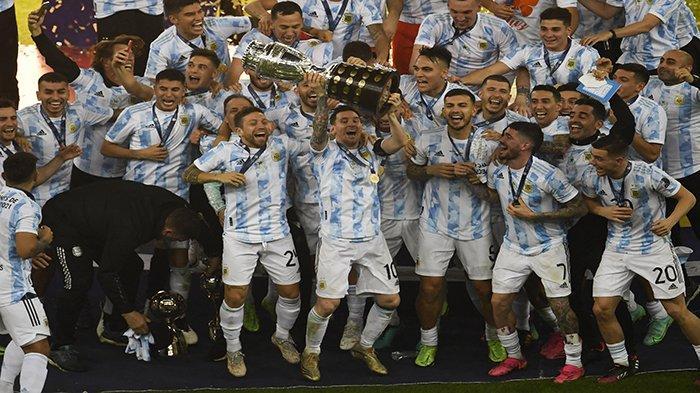 REKAP Copa America Messi Pemain Terbaik dan Top Skor, Martinez Kiper Terbaik & Argentina Juara