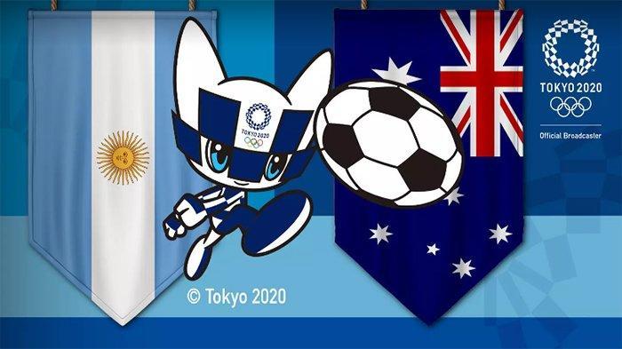 LIVE Skor Argentina vs Australia Sekarang Update Hasil Sementara Sepak Bola Olimpiade Tokyo 2021