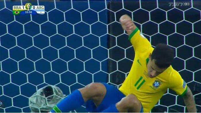 Hasil Argentina Vs Brazil Semifinal Copa America | Jesus Bawa Brazil ke Babak Final? LIVE Babak II