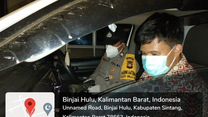 Gantikan Peran Driver Ambulans, Brigadir Arif Antar Pasien Covid-19 ke Rumah Sakit Rujukan Sintang
