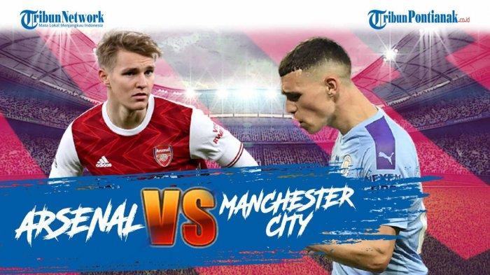 Link Live Streaming Arsenal Vs Manchester City Link Skor Hasil Arsenal Vs Man City Arteta Vs Pep Tribun Pontianak