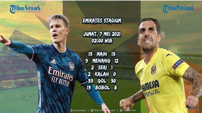 Streaming Liga Europa 2021 Arsenal Vs Villareal dan Roma Vs Man United, Kapan Final Liga Eropa 2021?