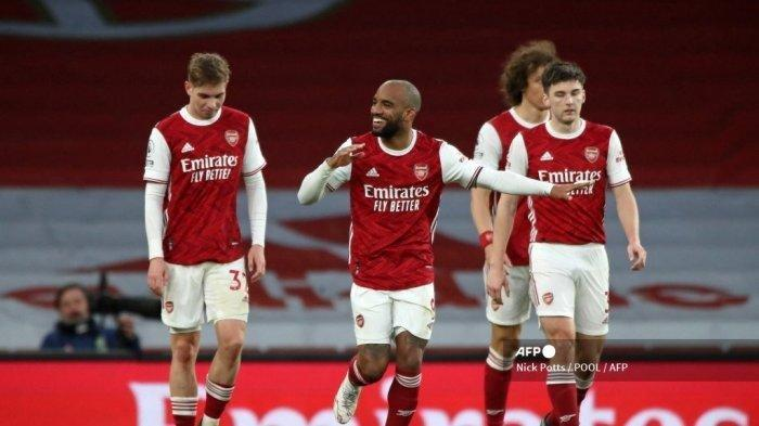 HASIL Liga Inggris West Ham vs Arsenal - Dibantu Dua Gol Bunuh Diri, The Gunners Bermain Imbang