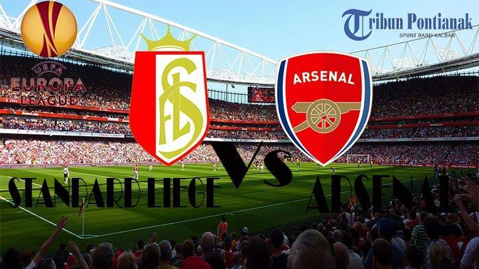 LIVE STREAMING SCTV Liga Eropa | Arsenal Vs Standard Liege, Ajang Pembuktian Emery dan Nicolas Pepe