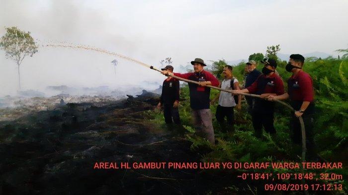 Artha Graha Peduli Berpartisipasi Bantu Penanganan Kebakaran Lahan di Wilayah Kalbar