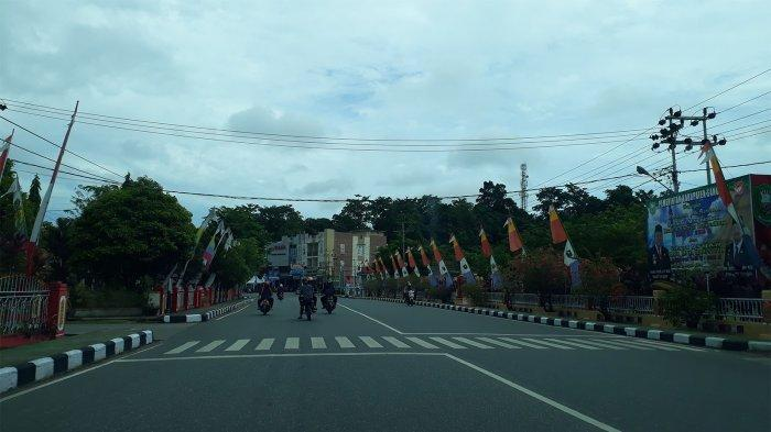 Arus Lalu Lintas di Jalan Jenderal Sudirman Sanggau Didominasi Kendaraan Roda Dua