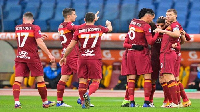 Jadwal Liga Italia 2021 - AS Roma Bidik Luis Diaz Top Skor Kolombia di Copa America 2021
