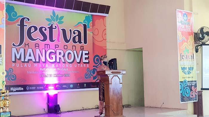 Pemkab Kayong Utara Beri Apresiasi AtasFestival Kampong Mangrove Pulau Maya