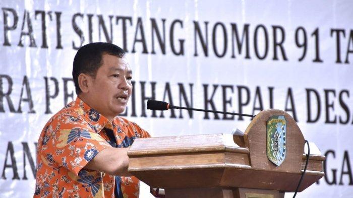 Wabup Askiman Imbau Jaga Kondusifitas saat Pelaksaan Pilkades 2020