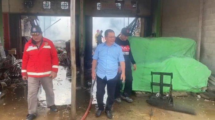 Askiman Sebut Akan Bangun UPT Damkar di Sungai Tebelian untuk Antisipasi Kebakaran dan Karhutla