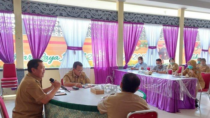 Bahas Komitmen Cegah Penyebarab Covid-19, Askiman Kumpulkan Perwakilan Perusahaan Perkebunan Sawit