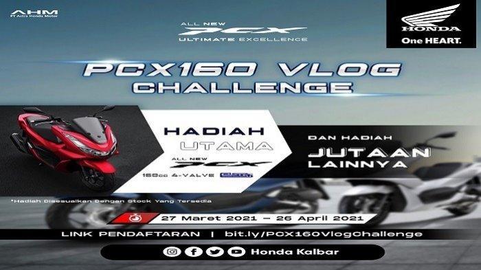 Astra Motor Kalbar Gelar PCX160 Vlog Challenge