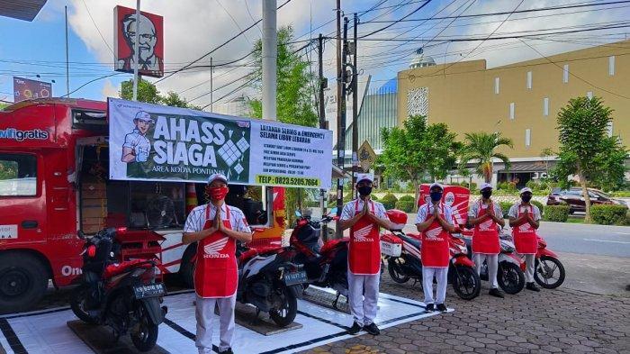 AHASS SIAGA, Layanan Istimewa Astra Motor Pontianak Bagi Pengguna Honda di Kalbar Saat Lebaran