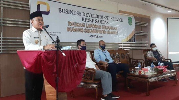 Dinsos PMD Beri Pelatihan Menajemen Keuangan untuk BUMDes, Wiwin: Untuk Majukan Usaha di Desa