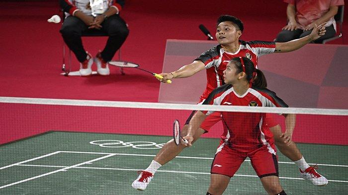 Jadwal Badminton Olimpiade Tokyo Senin Senin 2 Agustus 2021, Ada Greysia Polii/Apriyani dan Ginting