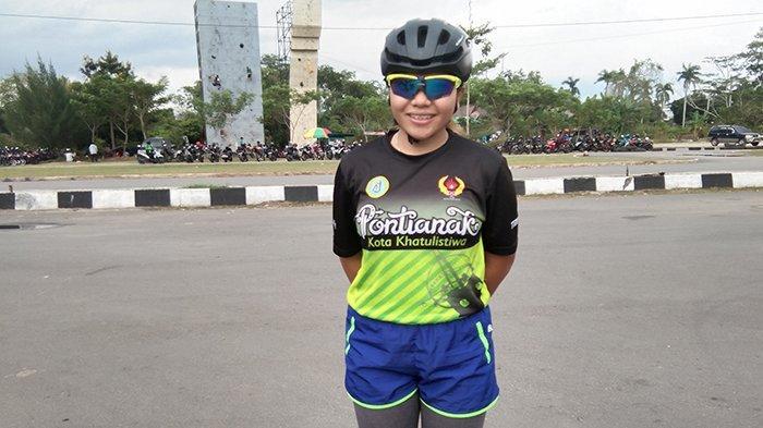 Atlet Putri Sepatu Roda Kalbar Puspa Bidik Medali Pra PON, Amankan Tiket PON 2020