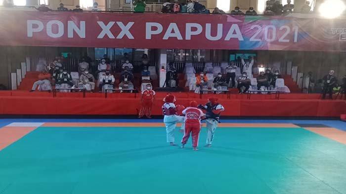 Novianyanti Atlet Tarung Derajat Kalbar Berhasil Sabet Medali Emas PON XX Papua