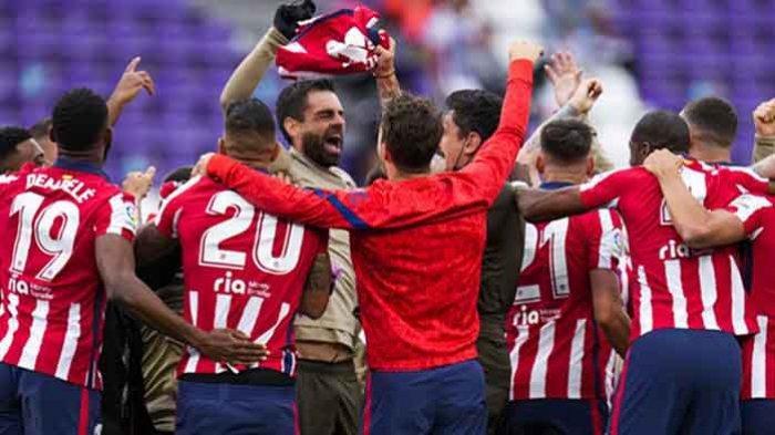 Atletico Madrid Juara La Liga Spanyol Musim 2020/2021, Ini Gelar Juara La Liga ke-11 Atletico Madrid