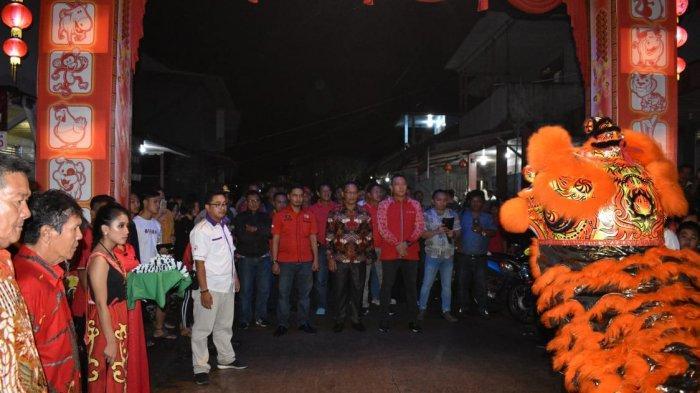 Tahun Baru Imlek di Sepauk, Andon Ajak Warga Tionghoa Berperan dalam Pembangunan