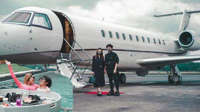 BATAL HONEYMOON di Dubai, Atta Aurel Liburan ke Bali Pakai Private Jet, Aurel Hermansyah