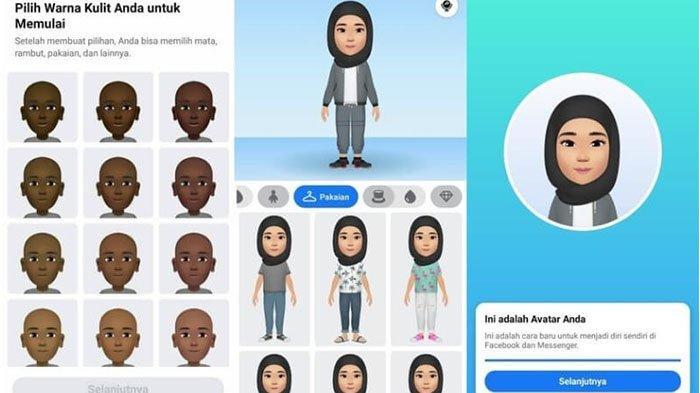 CARA Mudah Gunakan Fitur Avatar di FB, Banyak Pilihan Warna Kulit, Rambut, Mata untuk Update Status