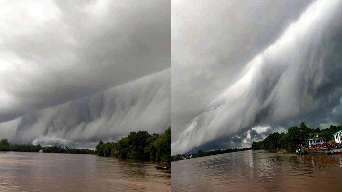 Ada AWAN TSUNAMI di Kalimantan Barat - Bagaimana Awan Arcus Terbentuk dan Apa Saja yang Terjadi