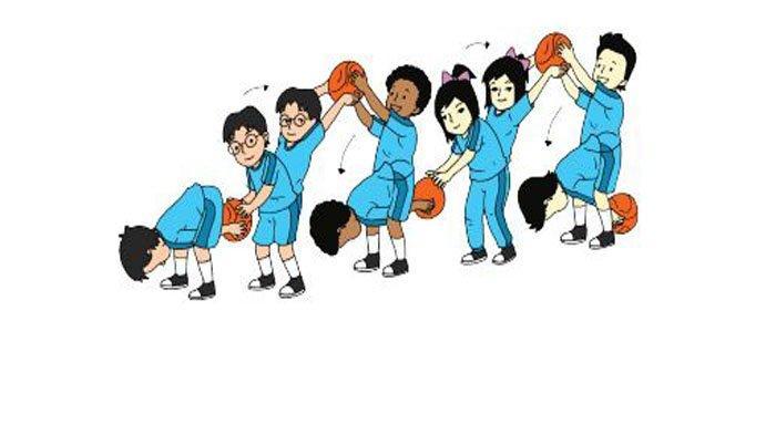 Ayo, bermain bola tangan.
