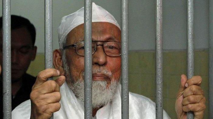 Abu Bakar Baasyir Bebas Murni Jumat 8 Januari 2021, Siapa Dia dan Mengapa Sampai Dipenjara 15 Tahun?