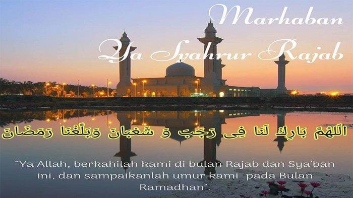 Lafaz Doa Buka Puasa Sunnah Bulan Rajab 1440 H Tribun Pontianak