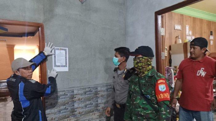 Lawan Virus Corona, Polsek Bersama Koramil dan Kecamatan BadauSebar Maklumat Kapolri