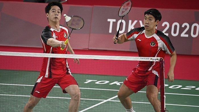 Update Ranking BWF Pekan 30 saat Olimpiade Tokyo: Marcus/Kevin Perkasa, Pemain Malaysia Terlempar