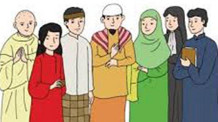Bagaimana Sikapmu Terhadap Teman Berbeda Agama? Kunci Jawaban Tema 8 Kelas 4 Halaman 96 97 98 99 100