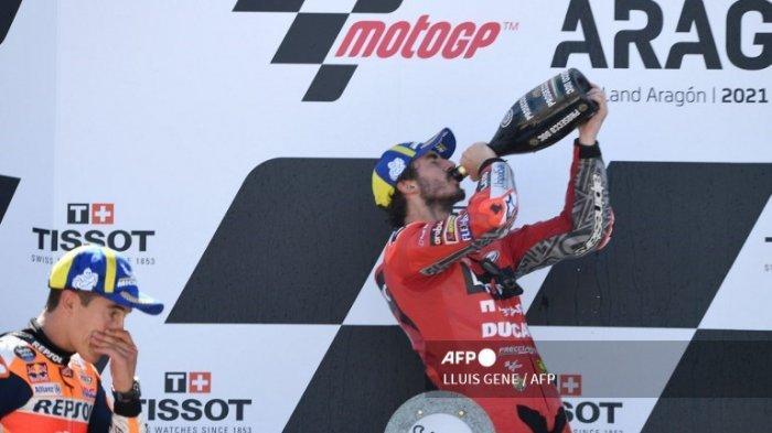 KLASEMEN MotoGP Terbaru Setelah Race Motorland Aragon Spanyol Tadi Malam Qaurtararo Terancam Bagnaia