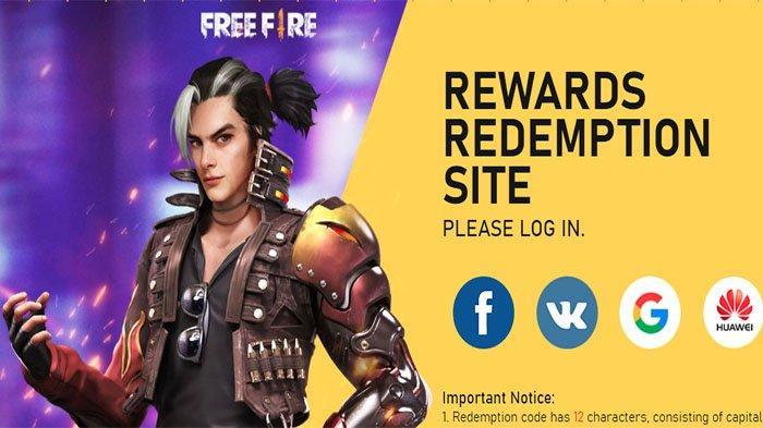 Kode Redeem FF Terupdate Kamis 9 September 2021! Ada Titan Scar Redeem Code 1L5X ZSZM 6LEF