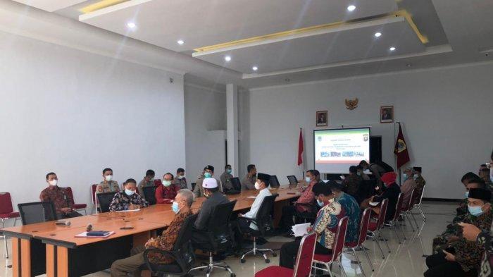 Tingkatkan Kondusifitas Wilayah, Polres Melawi Gelar Rapat Koordinasi Lintas Sektoral Bahas 3 Topik
