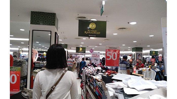 Baju Pria di Mega mall diskon hingga 50+20%