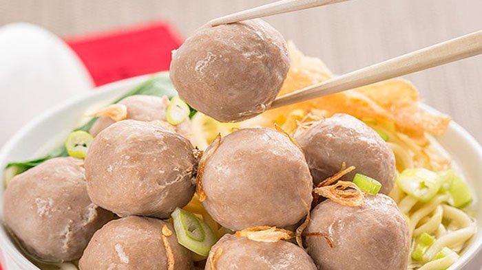 Resep Bakso Sapi Rumahan Cara Membuat Bakso Sapi Kenyal Sekali Masak Bisa Untuk 12 Porsi Tribun Pontianak